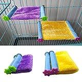 Amaca mini inverno caldo casa per animale domestico uccello pappagallo scoiattolo Hanging Bed Toy
