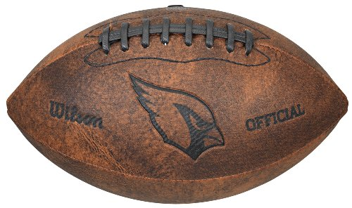 Gulf Coast Sales NFL Vintage Throwback Fußball, 22,9 cm, braun, 9""