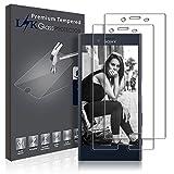 Sony Xperia X Compact Pellicola Protettiva, LK [2 Pack] Protezione Schermo Vetro Temperato Screen Protector [Garanzia di Sostituzione a Vita]