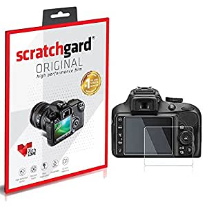 Scratchgard Nikon D3300 Screen Protector | Clear