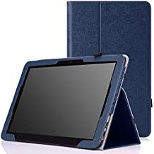 MoKo ASUS Transformer Book T300 Chi Funda - Slim Soporte Funda para Transformer Book T300 Chi 12.5 Pulgadas (2015 Verción) Windows 8.1 Tableta, AZUL Oscuro