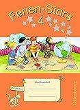 Ferien-Stars: 4. Schuljahr - Übungsheft: Mit Lösungen