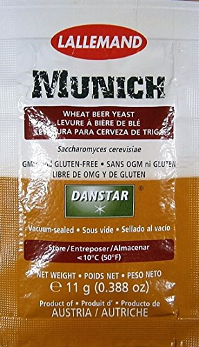 Danstar Trocken Bierhefe - Munich | Lallemand | Hefe für Bier | Bier-Hefe | Trcken - Hefe | Lager | Pilsner | Ale | Weiss
