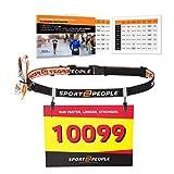 Cinta para nœmero - Cinturón Deportivo para Carreras de Competicion de Triatlon, Ironman Maraton, Correr – Race Number Belt for Running, Triathlon, Marathon
