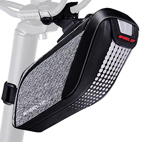 Satteltasche Fahrrad, Betuy Wasserdichte Fahrrad Satteltasche/ Fahrradsitz Tasche/ Radfahren unter Tasche mit Reflektierendem Streifen, Beste Fahrradtasche Zubehör für Mountain Road MTB -