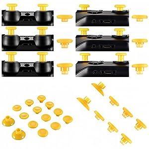 Thumbsticks tauschbar höhenverstellbar passend für PS4® Controller und Xbox® One Controller – gelb