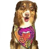 Hipiyoled Sciarpa con Bavaglino Reversibile con Triangolo di Bandana per Cani e Animali
