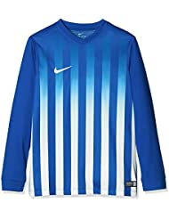 Nike Kinder Striped Division Ii Ls Jersey Youth Trikot