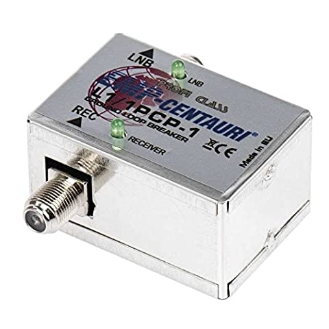 EMP-Centauri Mantelstromfilter L1/1PCP-1 für SAT Anlagen Multischalter Verteiler Matrix Ground Loop (Sat Anlage Verteiler)