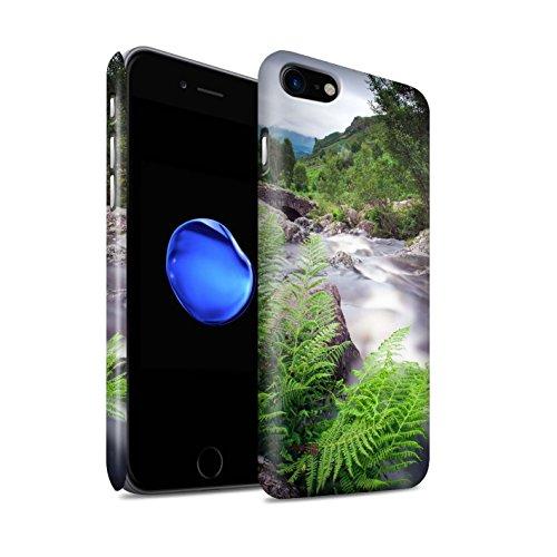 STUFF4 Matte Snap-On Hülle / Case für Apple iPhone 8 / Brücke Muster / Wasserfälle Kollektion Strom
