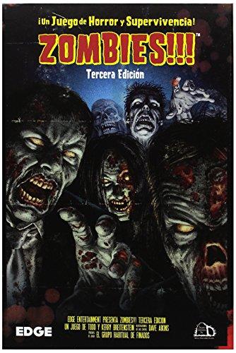 Zombies!!! - Juego de mesa, 3ª edición (Edge Entertainment EDGTC3D)