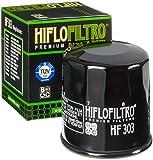 3x Filtro de aceite Yamaha YFM 660 FWA FAT Grizzly 2005 Hiflo HF303