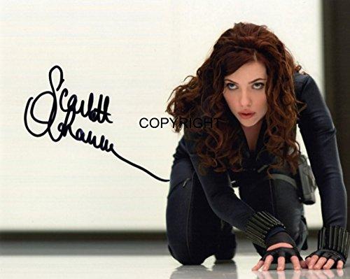 Limited Edition Scarlett Johansson unterzeichnet Foto Autogramm signiertsigniertes (Thor-box-set Dvd)