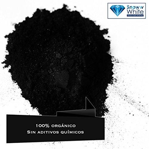 Carbón Activado Premium – Polvo 100 % orgánico – Sin aditivos químicos – blanqueador dental – Para blanqueamiento   Active Carbon Activated Charcoal   pasta de dientes   mascarilla puntos negros