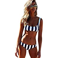 Mujer Traje de Baño, Ropa De Baño De Dos Piezas Bohemia Bikini Mujer 2019 Bikini Push Up Mujer Playa Bikinis Mujer con Relleno Traje De Baño Mujer