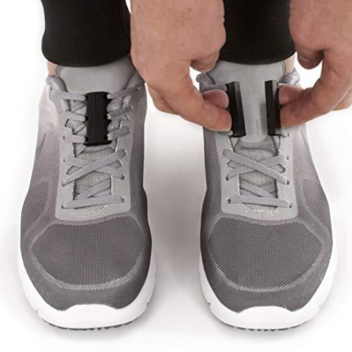 zubits® - Chiusure magnetiche per scarpe - Mai più scarpe slacciate! ORIGINALI 2.0 (#3 Performance Adulti, nero)