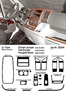PreWoodec Habillage Individuel, Bouton Tournant pour la Ventilation, Aircondition, Commande de bord, Console Centrale