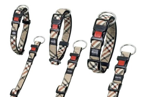 Karlie Flamingo 68264 Artjoy Plus - Halsband Englisch Style - 20 mm 40-55 cm
