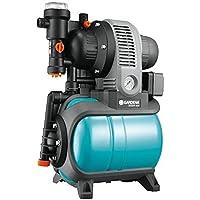 Gardena Classic Hauswasserwerk 3000/4 eco: Hauswasserpumpe mit Thermoschutzschalter, Rückschlagventil, Start/Stop…