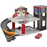 Enlarge toy image: Mattel DWB90 Cars Piston Cup Racing Garage