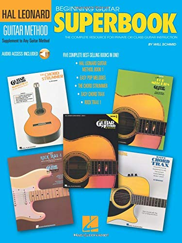The Hal Leonard Guitar Superbook: Book with Online Audio Tracks