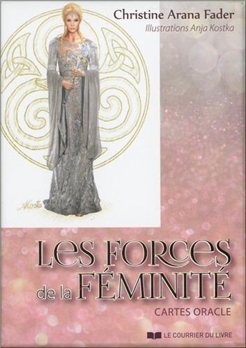Les forces de la féminité : Cartes oracle, avec 43 cartes