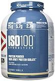 Dymatize ISO 100 Hydrolyzed Poudre d'Isolat de Protéines Faible en Sucre Riche en Protéines Vanille 2,2 kg