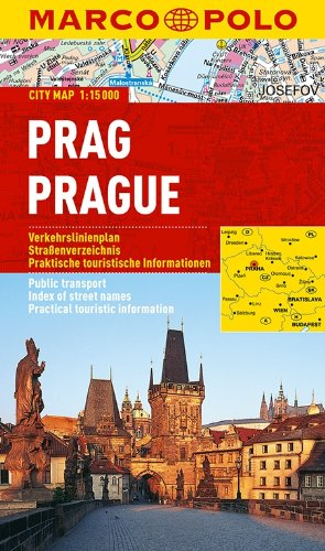 MARCO POLO Cityplan Prag 1:15 000: Stadsplattegrond 1:15 000 (MARCO POLO Citypläne)