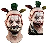 Générique-mahal702-Máscara completo látex adulto-Twisty el payaso-extraíble-Talla única