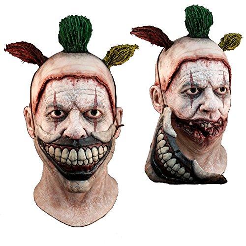 Preisvergleich Produktbild Générique mahal702 – Vollmaske Latex Erwachsene – Twisty der Clown – Abnehmbarer – Einheitsgröße