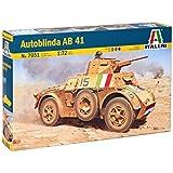 Italeri - I7051 - Maquette - Chars d'assaut - Autoblinda AB41 - Echelle 1:72