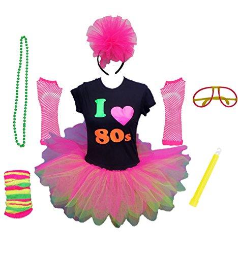 Honey B's® I Love The 80s Ladies Costume Set - XS to 3XL