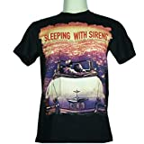 Sleeping With Sirens (Si fueras una película) Tamaño pequeño nuevo. Camiseta 1360