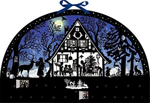 Wandkalender - Lichterbogen Weihnachtswald