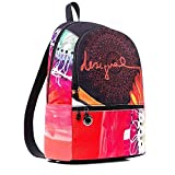 Desigual Poppy Flower Milan Mini Backpack NegroDati:o Materiale: Esterno 86% poliestere, 14% poliuretano, interno 100% poliestereo Dimensioni: Larghezza circa 33 cm, altezza circa 30 cm, profondità circa 12 cmo Colore: Negro (nero / giallo / rosso)o ...