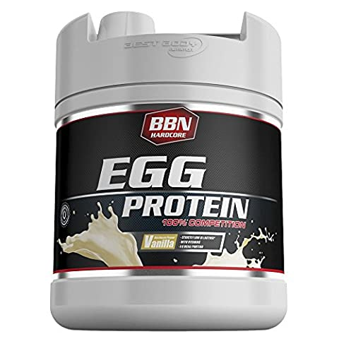 Best Body Nutrition 1900g Hardcore Egg Protein Vanilla by Best Body Nutrition (Hardcore Protein)