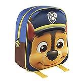 Paw Patrol 2100001560 Zaino per bambini con Chase, 31 cm, effetto 3D