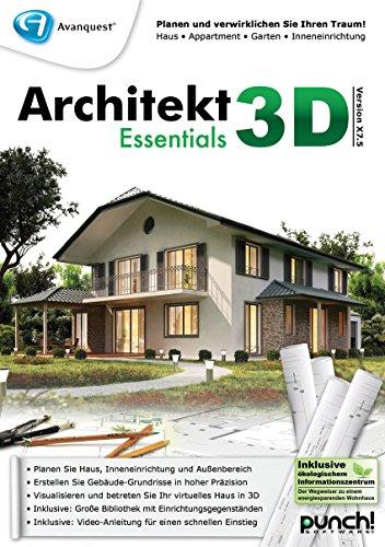 Architekt 3D X7.5 Essentials [PC Download] Stift Ende