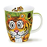 DUNOON Nevis Go Wild Crazy Animal Fine Bone China Tasse - tiger