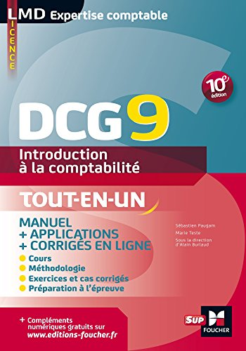 DCG 9 - Introduction  la comptabilit - Manuel - 10e dition