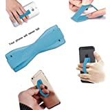 ONX3 (Bebe Azul) ZTE Grand Memo II LTE Universal Antideslizante Sostenedor Dedo Elástico del Teléfono Mobile Holder Grip con Adhesivo Fuerte