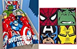Marvel Avengers Battle Single Bettwäsche Set Bettwäsche & Defenders Teppich