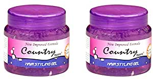 Country Born Hair Styling Gel Super Hard (2pcs)