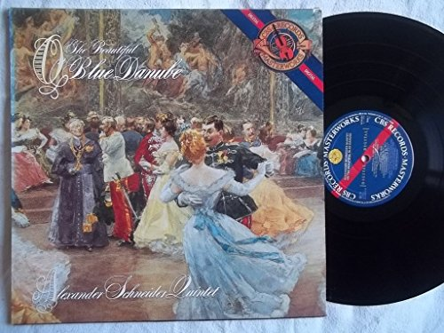 M 44522 ALEXANDER SCHNEIDER QUINTET The Beautiful Blue Danube LP