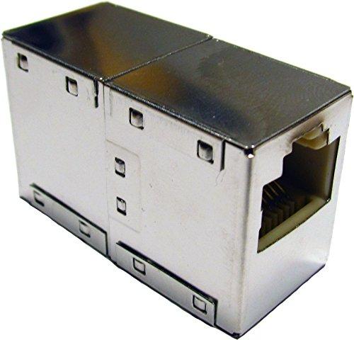 Netzwerkkabel Verbinder geschirmt Cat6 RJ45 Buchse auf RJ45 Buchse Cat6 bis10GBASE-T 250MHz -