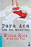 Para Ana (de tu muerto) (Bestseller)