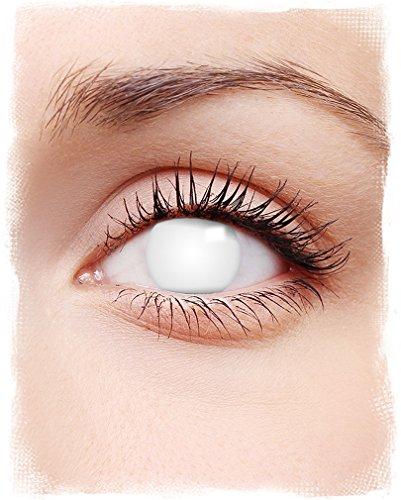 Kontaktlinsen Shocking White - Effekte Halloween Spezial Kontaktlinsen