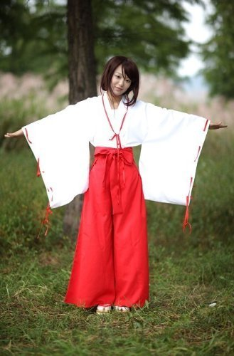 miko-miko-cosplay-costume-high-quality-costume-female-shaman-costume-size-l-japan-import-by-dejirura
