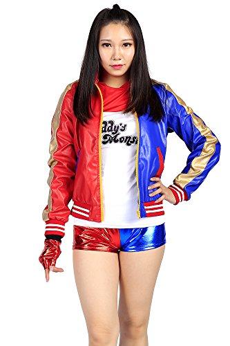 me Task Force X Member Harley Quinn Set V1 (Harley Quinn Cosplay Outfit)