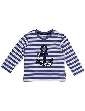 SALT AND PEPPER Baby-Jungen Langarmshirt B Longsleeve Pirat Stripe